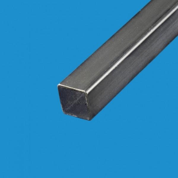 Tube carré acier noir 120 x 120