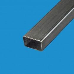 Tube rectangulaire acier noir 50x30 mm