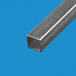 Tube carré acier décapé 30mm